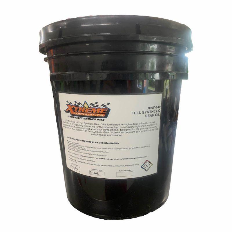 Xtreme Lubricants 80W-140 Gear Oil